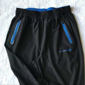 Free Country jogging sweat pants Sz M black
